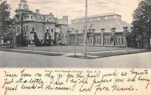 Olean New York 43rd Separate Co Armory Vintage Postcard JB627095
