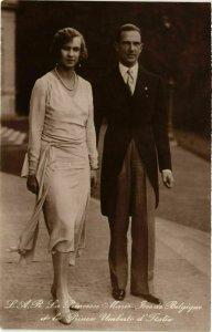 CPA AK Princesse Marie Jose&Prince Umberto BELGIAN ROYALTY (833622)