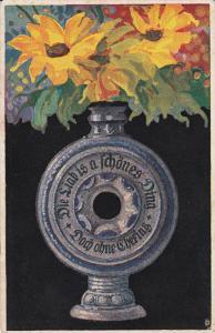AS: Still-Life, Flowers in Vase, Kunst #184, 00-10s