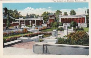 Indiana Columbus The Irwin Gardens Curteich