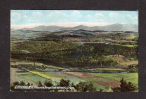 NH Kilburns Crags View LITTLETON NEW HAMPSHIRE POSTCARD