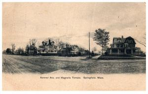 Massachusetts  Springfield  Summer Avenue and Magnolia Terrace