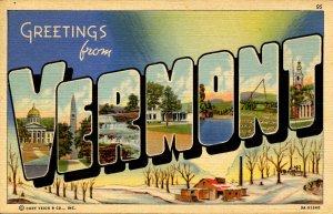 VT - Large Letter, Vermont