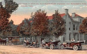 Klu Klux Clan Postcard The House the Klu Klux Clan originated Now Richardson&...