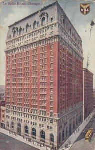 CHICAGO, Illinois, 1909;  La Salle Hotel