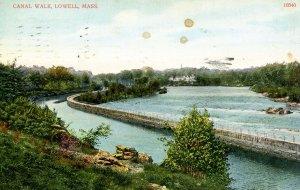 MA - Lowell. Canal Walk