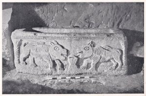 Beth Shearim The Lion Sarcophagus Israel Postcard