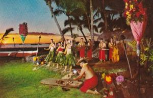 Hawaii Kailua Sunset At Kona Inn