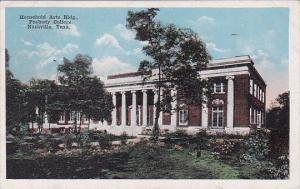 Tennessee Nashville Household Arts Building Peabody College 1920