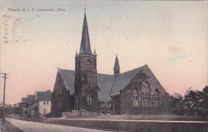 Chple B I S Lancaster Ohio 1912
