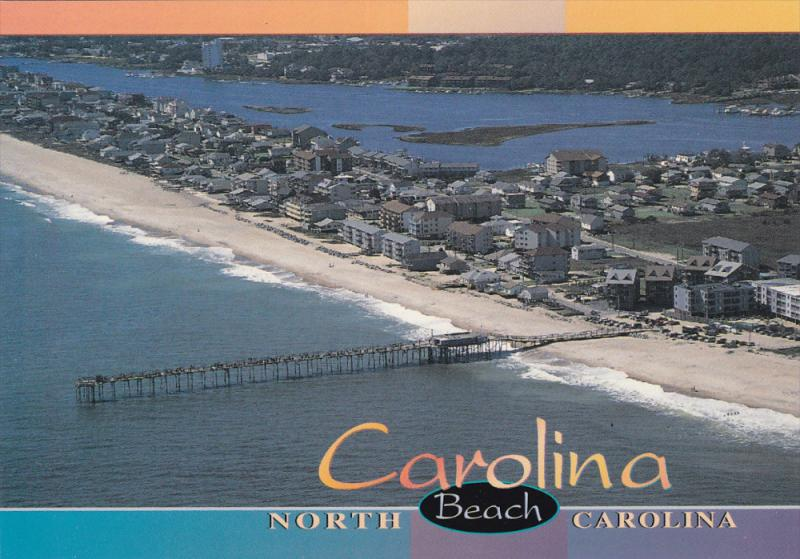 Carolina Beach , North Carolina , 60-80s ; Pier