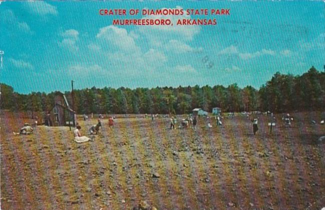 Arkansas Murfreesboro Crater Of Diamonds State Park 1972
