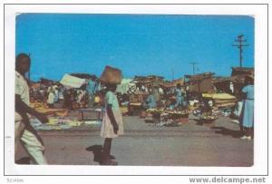 Open Market, Port-au-Prince, Haiti, 40-60s