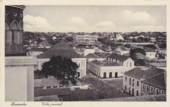 Vista Parcial, Luanda, Angola, Africa, 1910-1920s