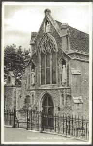 REAL PHOTO Postcard Slipper Chapel WALSINGHAM Norfolk
