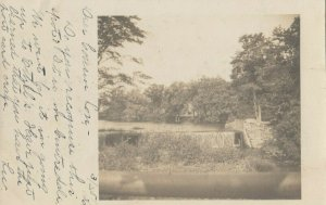 RP: PROVIDENCE, Rhode Island, 1906 ; Dam in park
