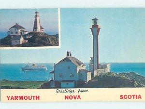 Pre-1980 BUILDING SCENE Yarmouth Nova Scotia NS AE8322
