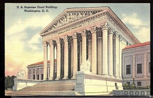 USA Postcard  The Supreme Court Building Washington DC