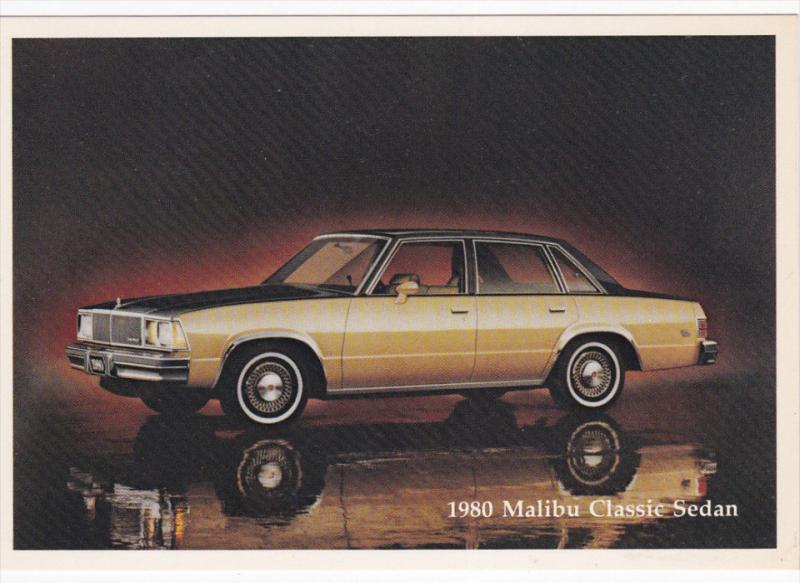1980 Malibu Classic Sedan, 1980's