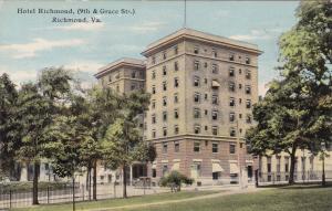 RICHMOND , Virginia , 00-10s ; Hotel Richmond (9th & Grace Sts)
