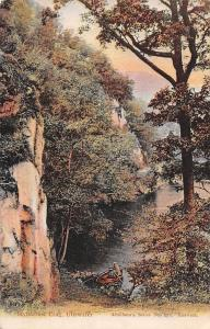 Ullswater, Stybarrow Crag, boats 1908