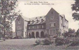 Indiana Greencastle Phi Delta Theta House De Pauw University Albertype