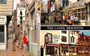 England Sussex Brighton The Lanes