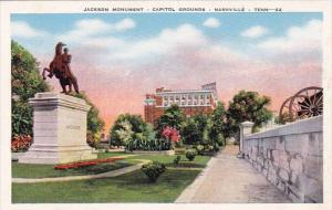 Jackson Monument Capitol Grounds Nashville Tennesse