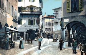 Switzerland Lugano Piazza Commercio 01.72