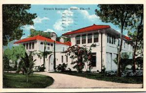 Florida Miami Beach Bryan's Resience 1922