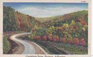 Arkansas Greetings From Benton Curteich