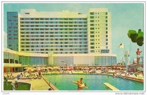 Deauville Hotel , Miami Beach , Florida , 50-60s