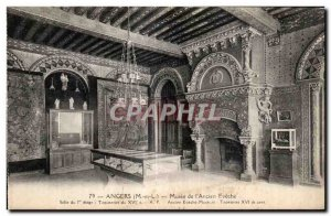 Old Postcard Angers Museum of Old Eveche room of the floor tapestries of the ...