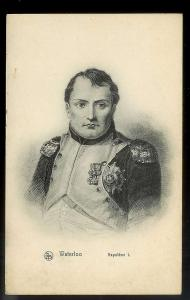 'Waterloo' Portrait of Napoleon I Unused c1910s
