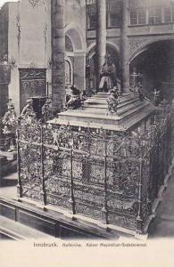 Hofkirche, Kaiser Maximilian- Grabdenkmal, Innsbruck, Tyrol, Austria, 1900-1910s
