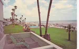Swimming Pool, Waterfront View at The Whitehall Hotel, Daytona Beach, Florida...