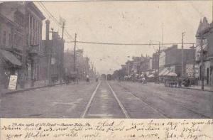 Pennsylvania Beaver Falls 7th Avenue Looking North 1907