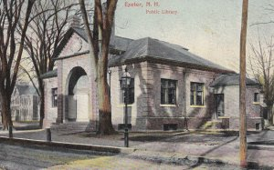 EXETER, New Hampshire, PU-1908; Public Library