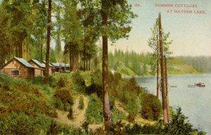 ID - Hayden Lake. Summer Cottages on Lake Hayden