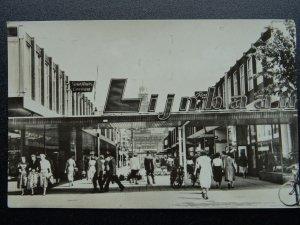 Netherlands ROTTERDAM - THE LIJNBAAN Main Shopping Street c1953 RP Postcard