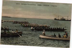 CPA Senegal-Dakar-Régates (235382)