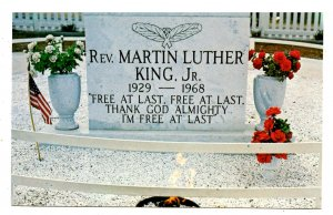 GA - Atlanta. Memorial to Rev. Dr. Martin Luther King, Jr.