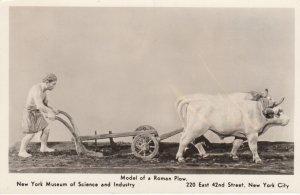 RP: NEW YORK CITY , 1930s ; Museum of Science & Industry , Roman Plow model