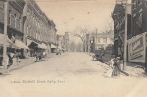 DERBY , Connecticut , 1901-07 ; Elizabeth Street