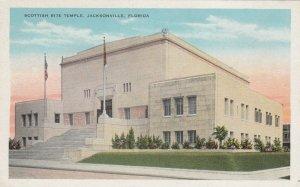 JACKSONVILLE , Florida, 1910-30s ; Scottish Rite Temple