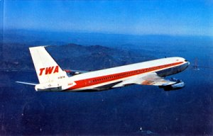 TRANS WORLD AIRLINES Boeing 707  1980s