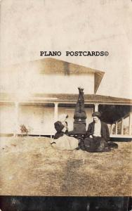 OSHKOSH, WISCONSIN 1908 HUMOROUS PHOTO RPPC REAL PHOTO POSTCARD