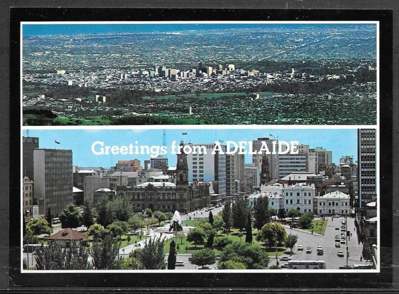 Australia, Greetings from Adelaide (SA) multiview, mailed