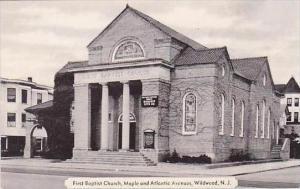 New Jersey Wildwood First Baptist Church DExter Press
