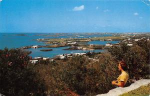 Bermuda, small islands, Gibbs Hill Lighthouse, Hamilton Harbour 1955
